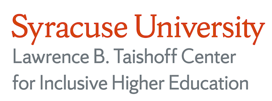 Taishoff Center for Inclusive Higher Education